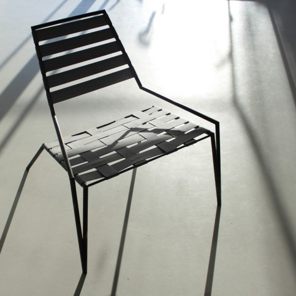 Steel pipe chair - Stockholm Furniture and Light Fair 2012